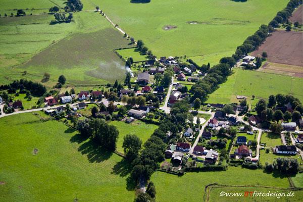 Dänschenburg von oben